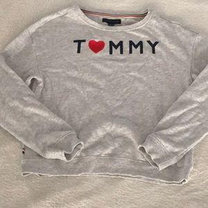 Tommy Hilfiger Girls Sz LG Sweatshirt